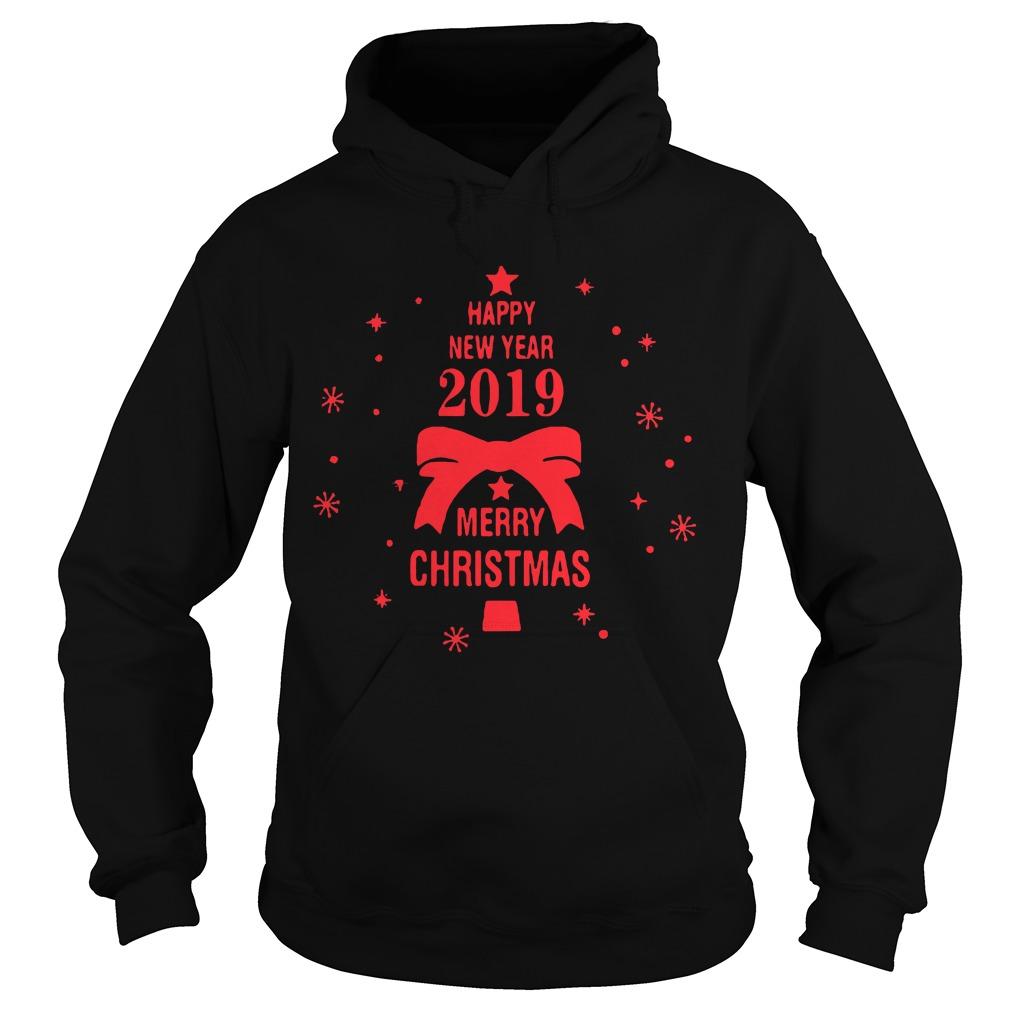 2019 Merry Christmas Happy New Year Hoodie