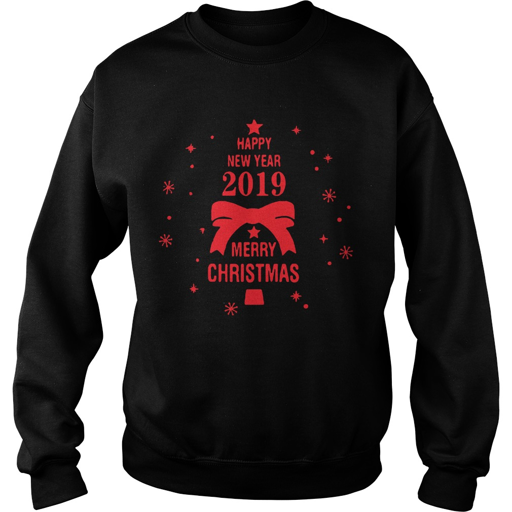 2019 Merry Christmas Happy New Year Sweater