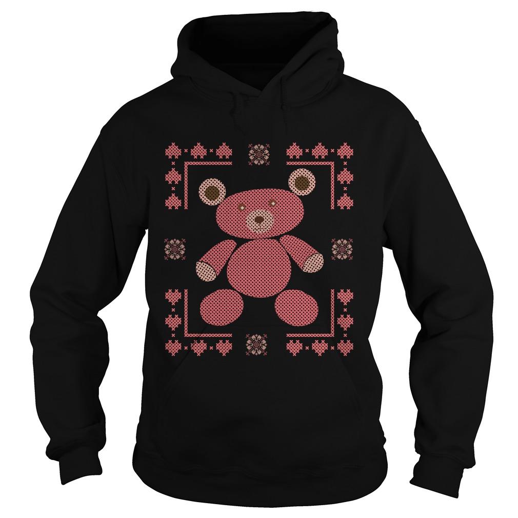 Bear ugly Christmas Hoodie