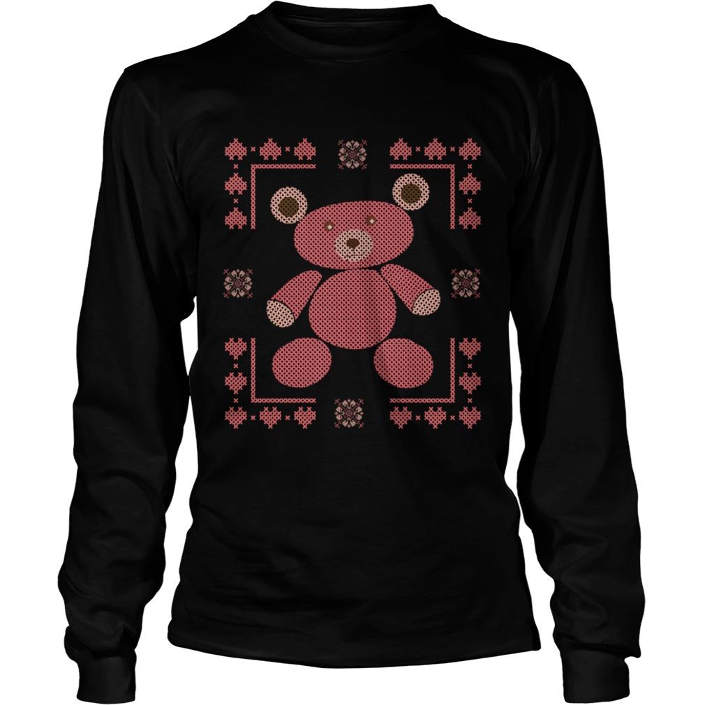 Bear ugly Christmas Longsleeve Tee