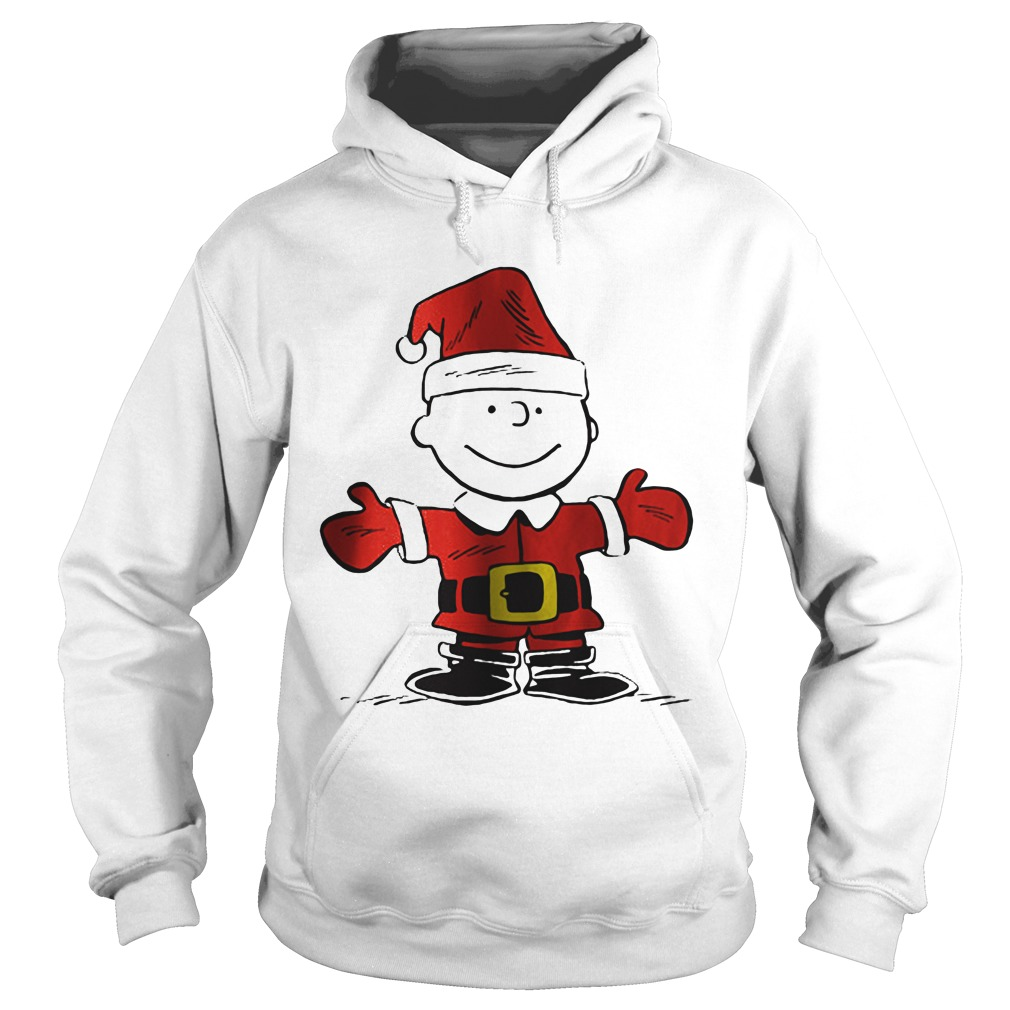 Charlie Brown is the Santa Claus Hoodie
