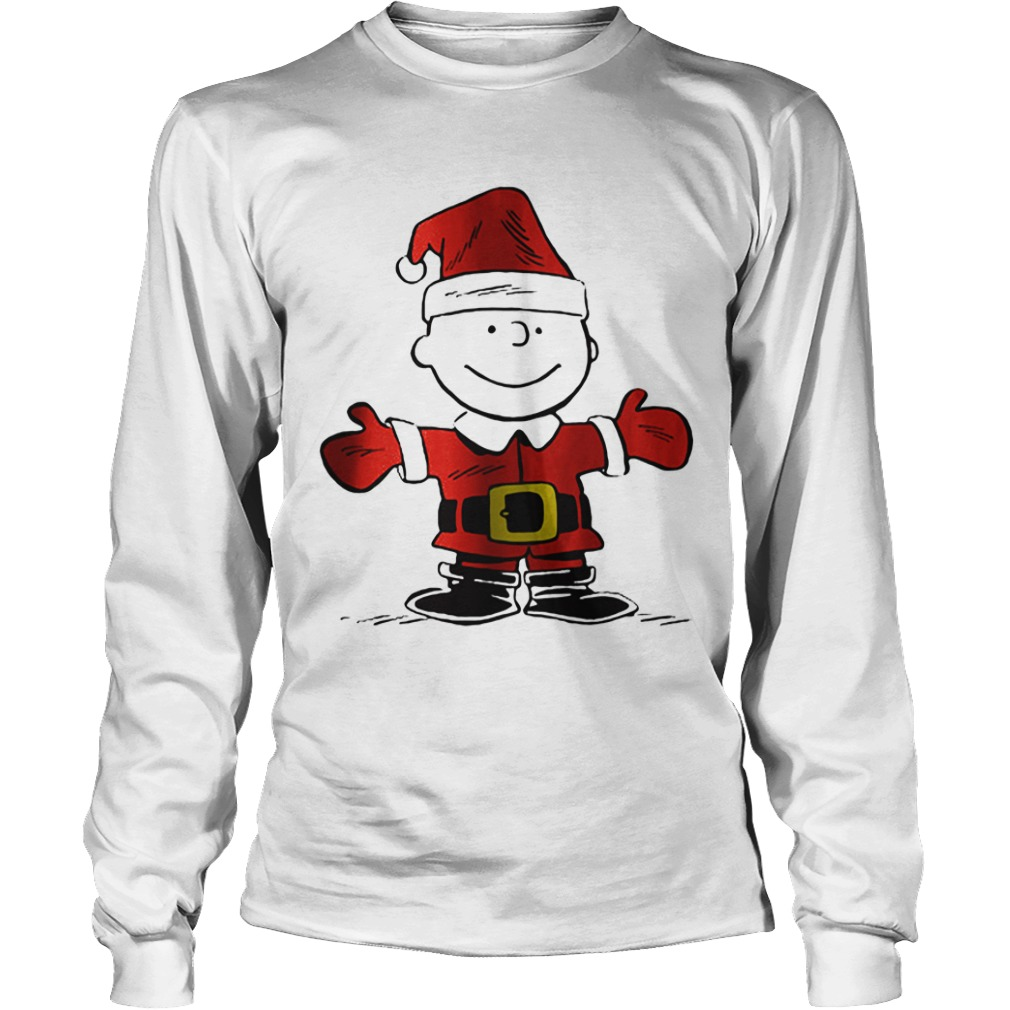 Charlie Brown is the Santa Claus Longsleeve tee