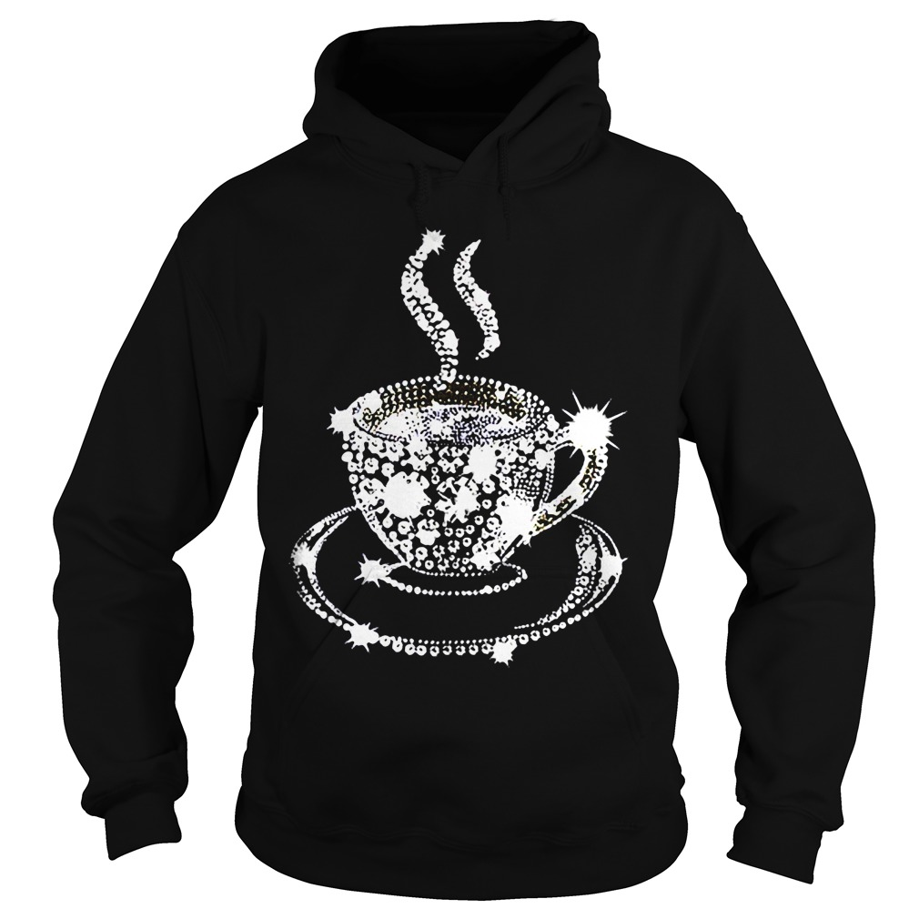 Diamond Coffee Cup HoodieDiamond Coffee Cup Hoodie