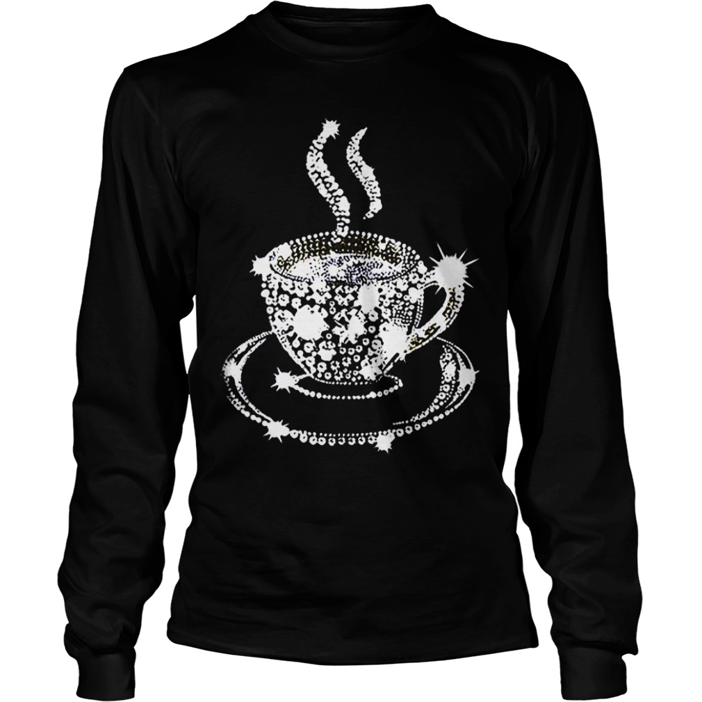 Diamond Coffee Cup Longsleeve tee