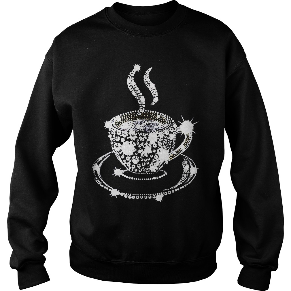 Diamond Coffee Cup Sweater