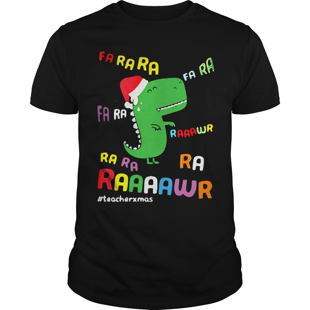 Dinosaurs Hat Christmas Guys shirt