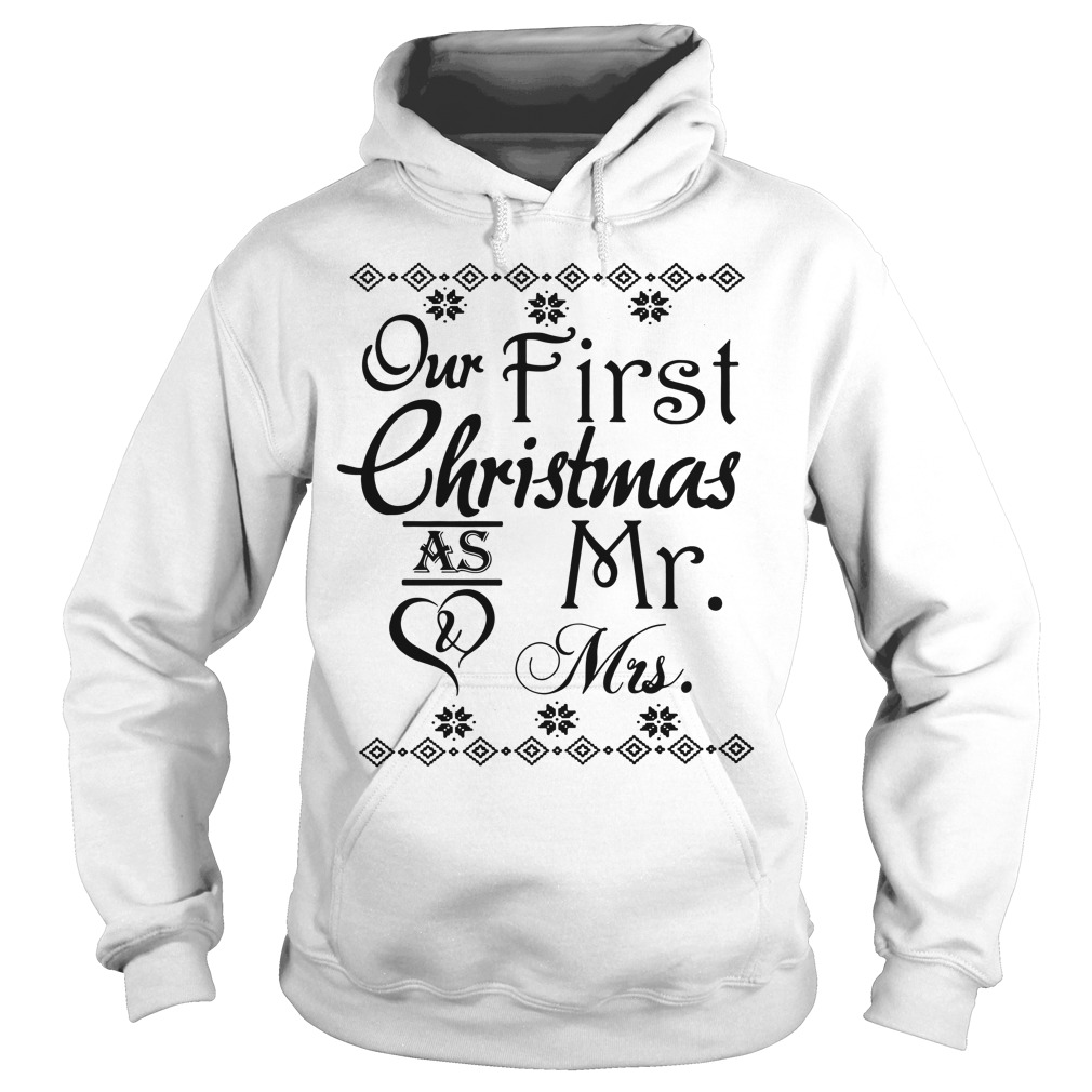 Our first Christmas as Mr and Mrs Hoodie