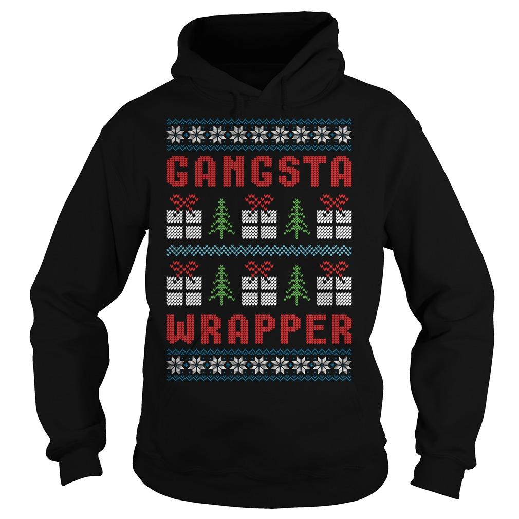 Gangsta Wrapper Ugly Christmas Hoodie