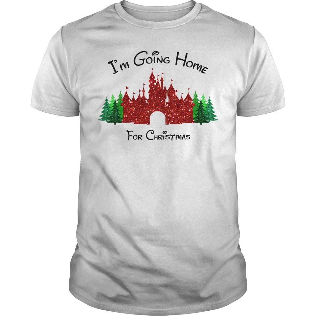 I am going home for Christmas Guys shirt