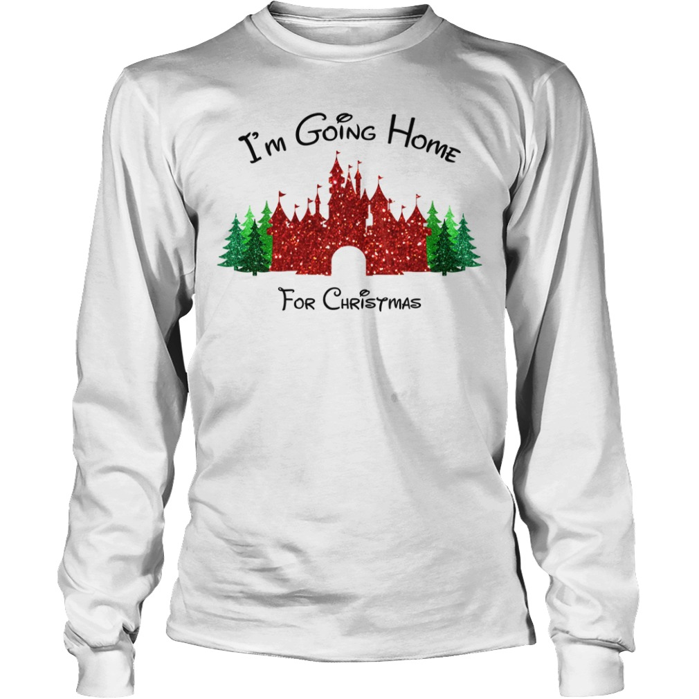 I am going home for Christmas Longsleeve tee
