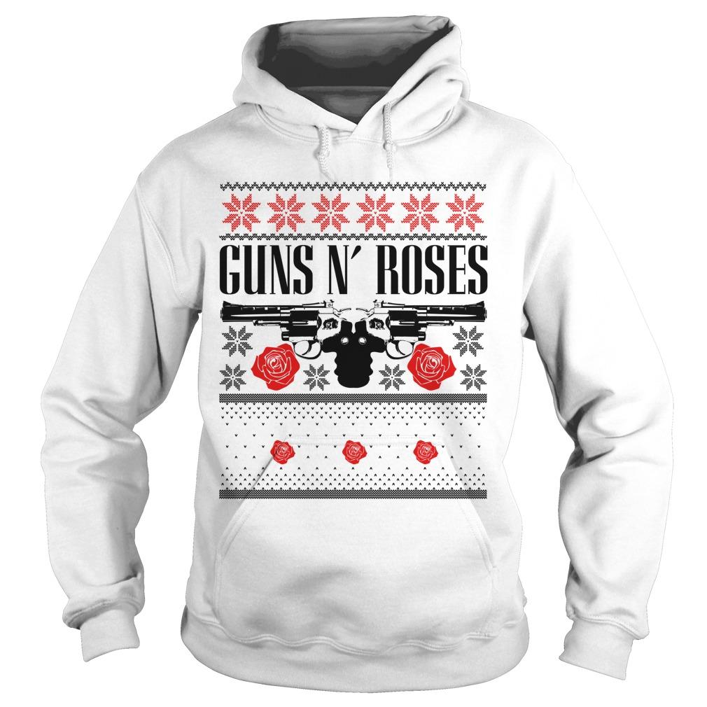 Guns N Roses ugly Christmas Hoodie