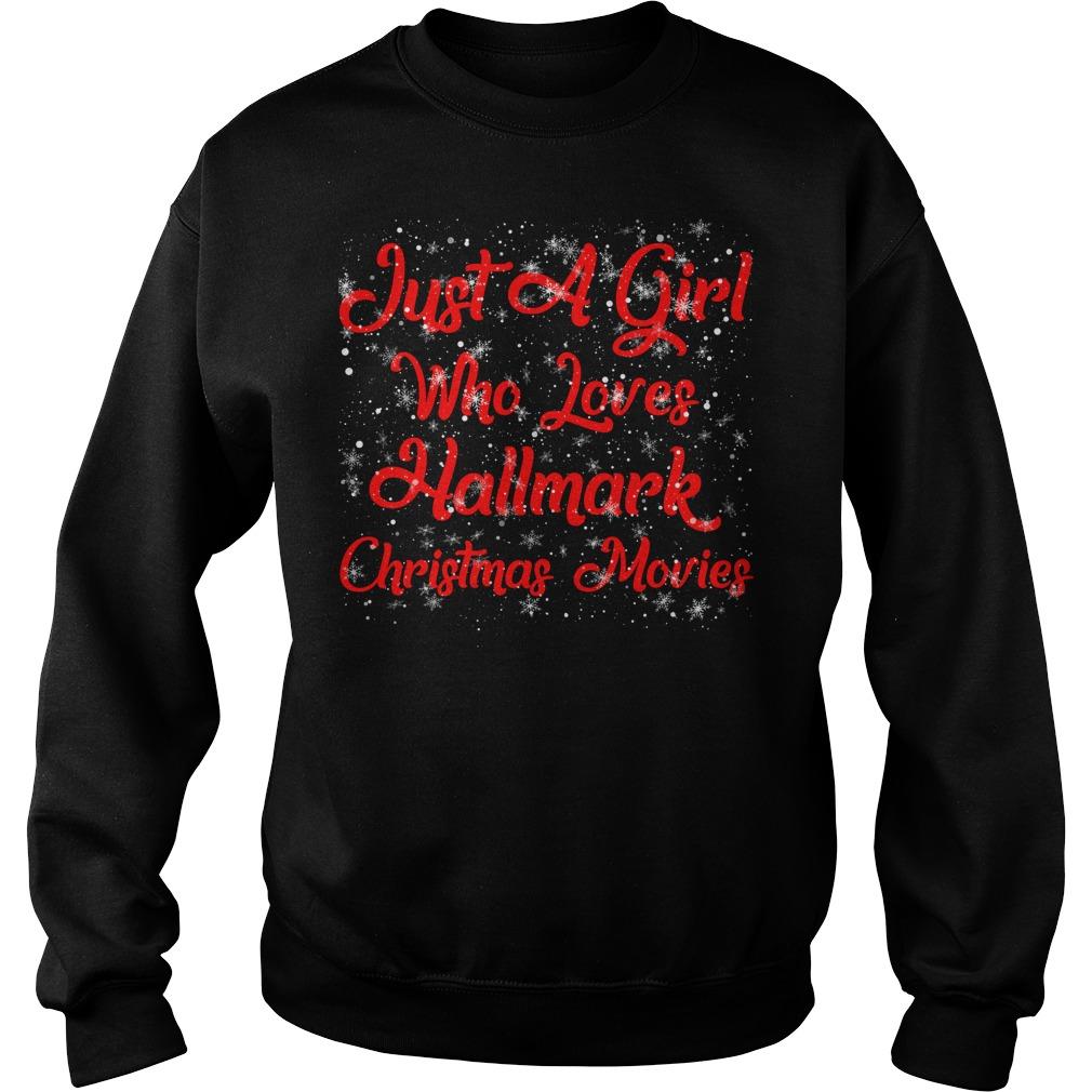 Just a girl who loves Hallmark Christmas movies Christmas sweater