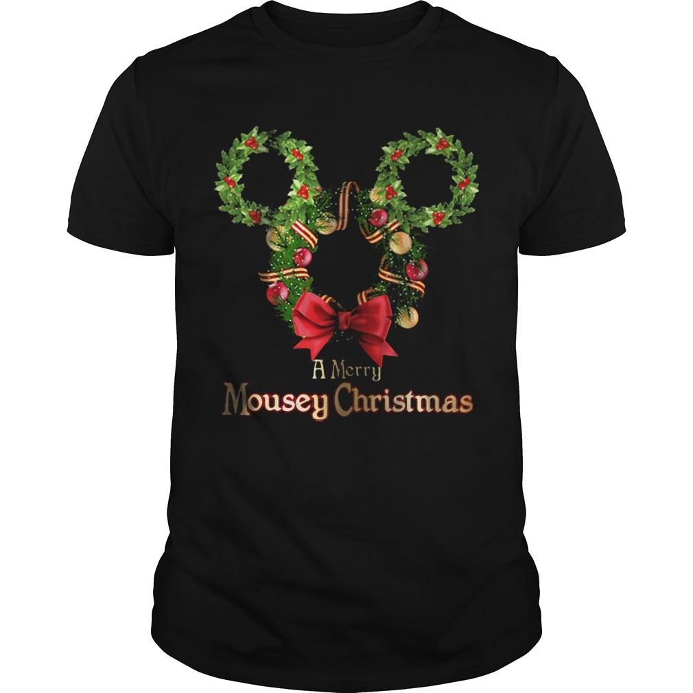 A Merry Mousey Christmas Guys shirt