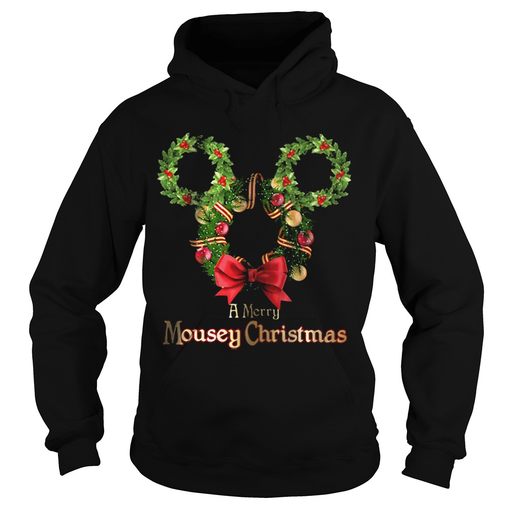 A Merry Mousey Christmas Hoodie
