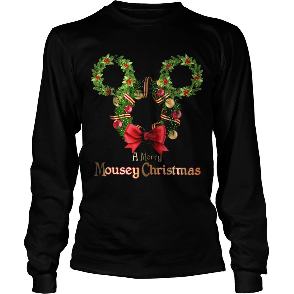 A Merry Mousey Christmas Longsleeve tee