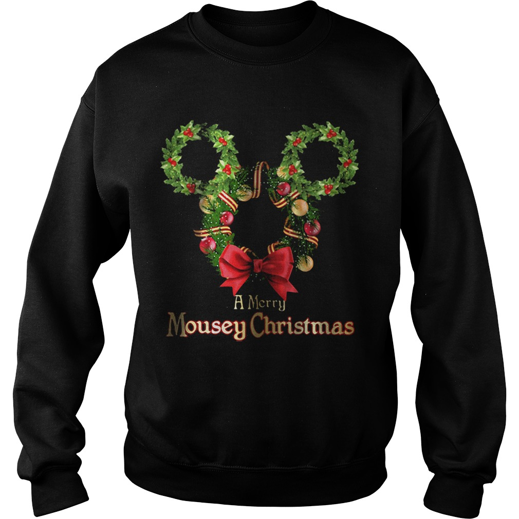 A Merry Mousey Christmas Sweater