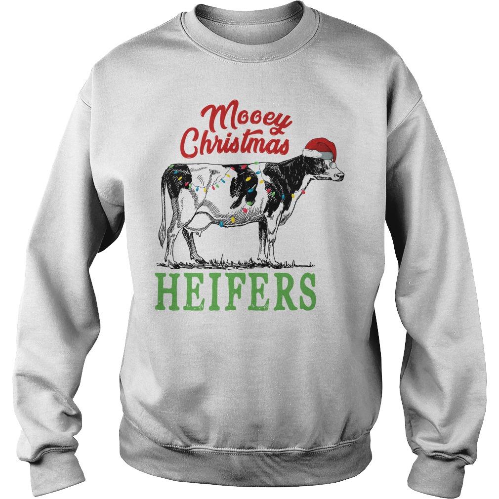 Mooey Christmas Heifers sweater