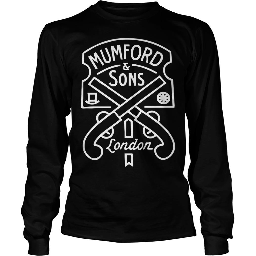 Mumford and Sons london Longsleeve Tee