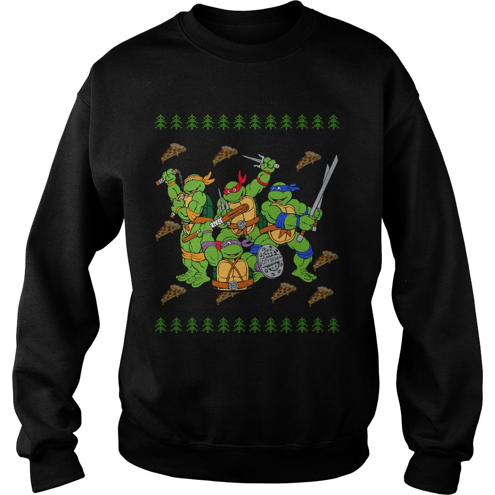 Ninja Turtles ugly Christmas Sweater