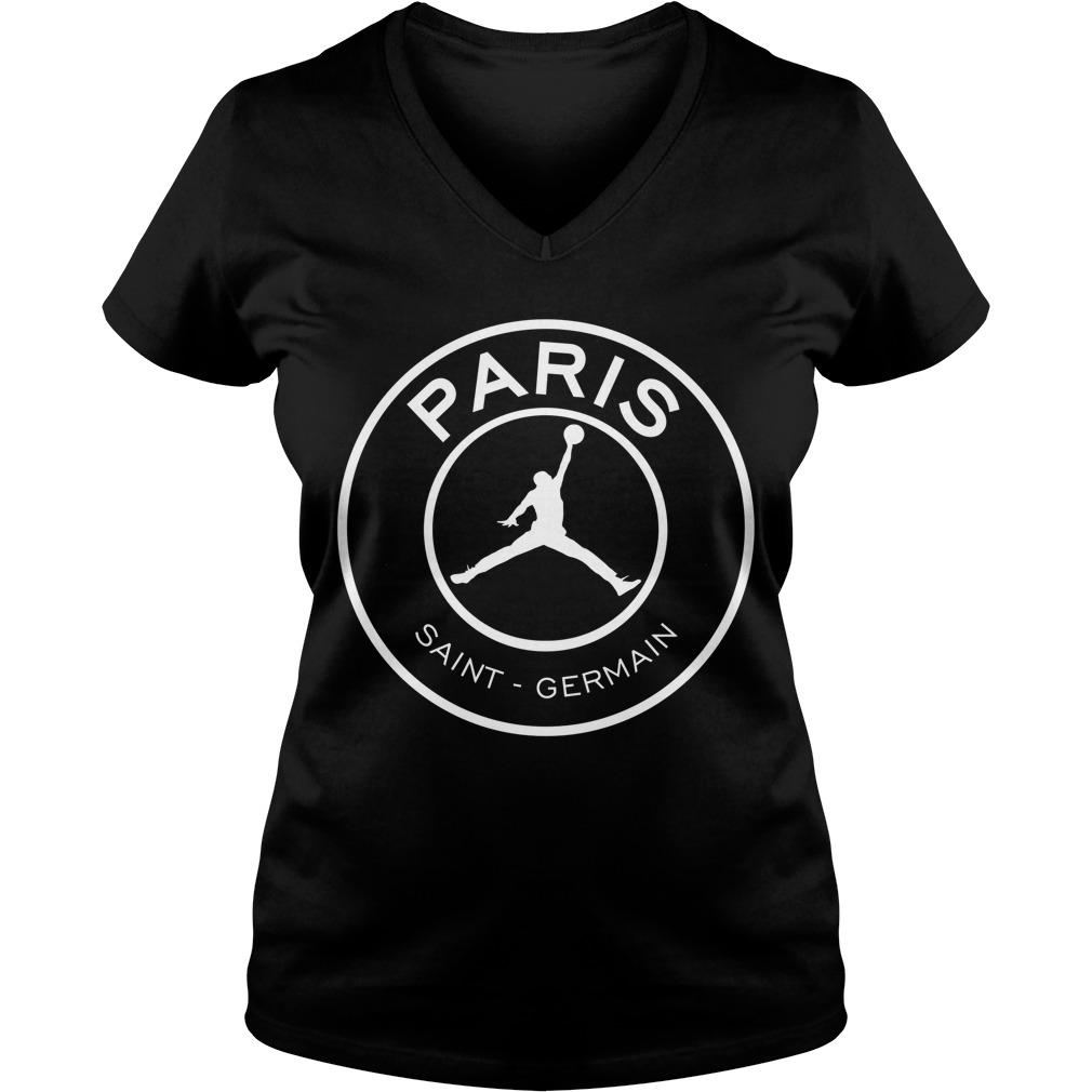 Official Paris saint germain V-neck T-shirt
