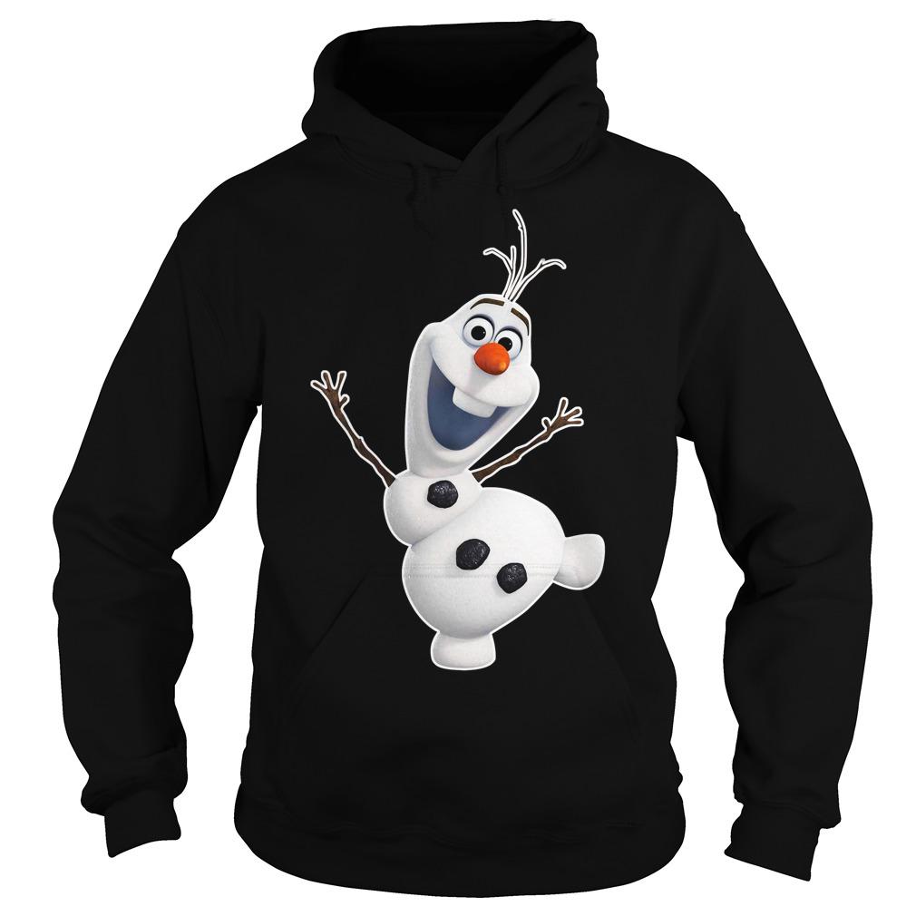Olaf Snowman frozen Zipper Hoodie