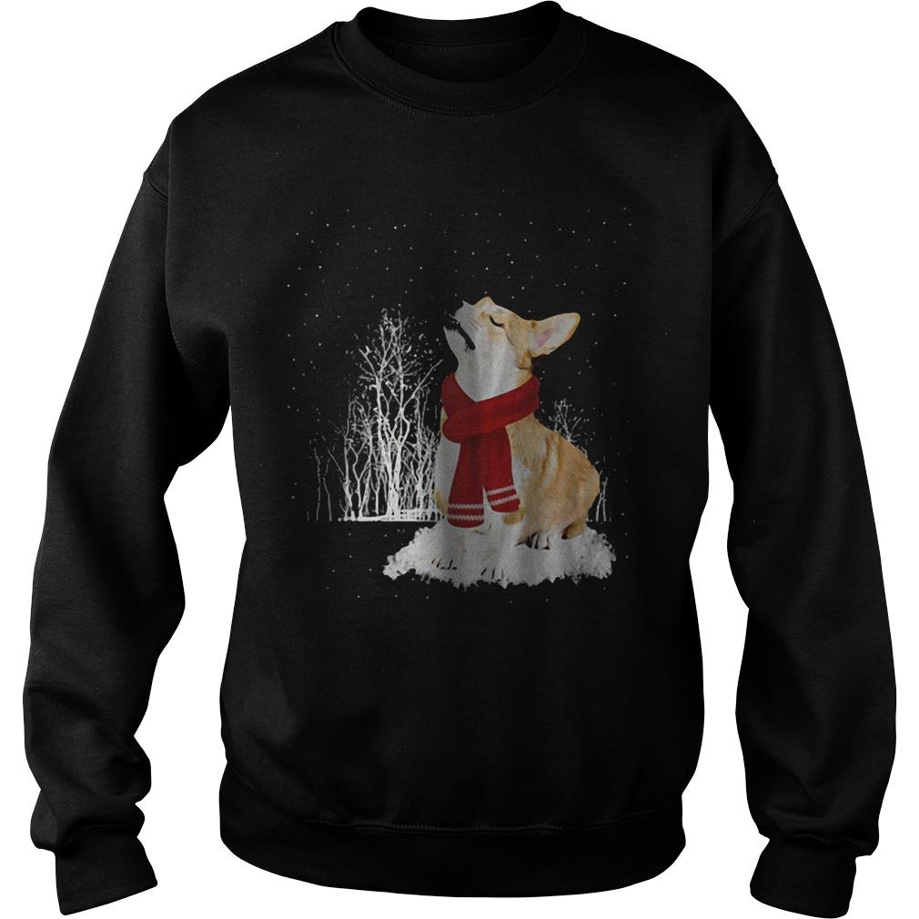 Pembroke Welsh Corgi Christmas sweater