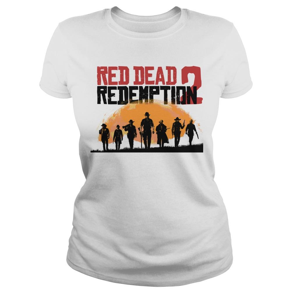 red dead redemption 2 Ladies Tee