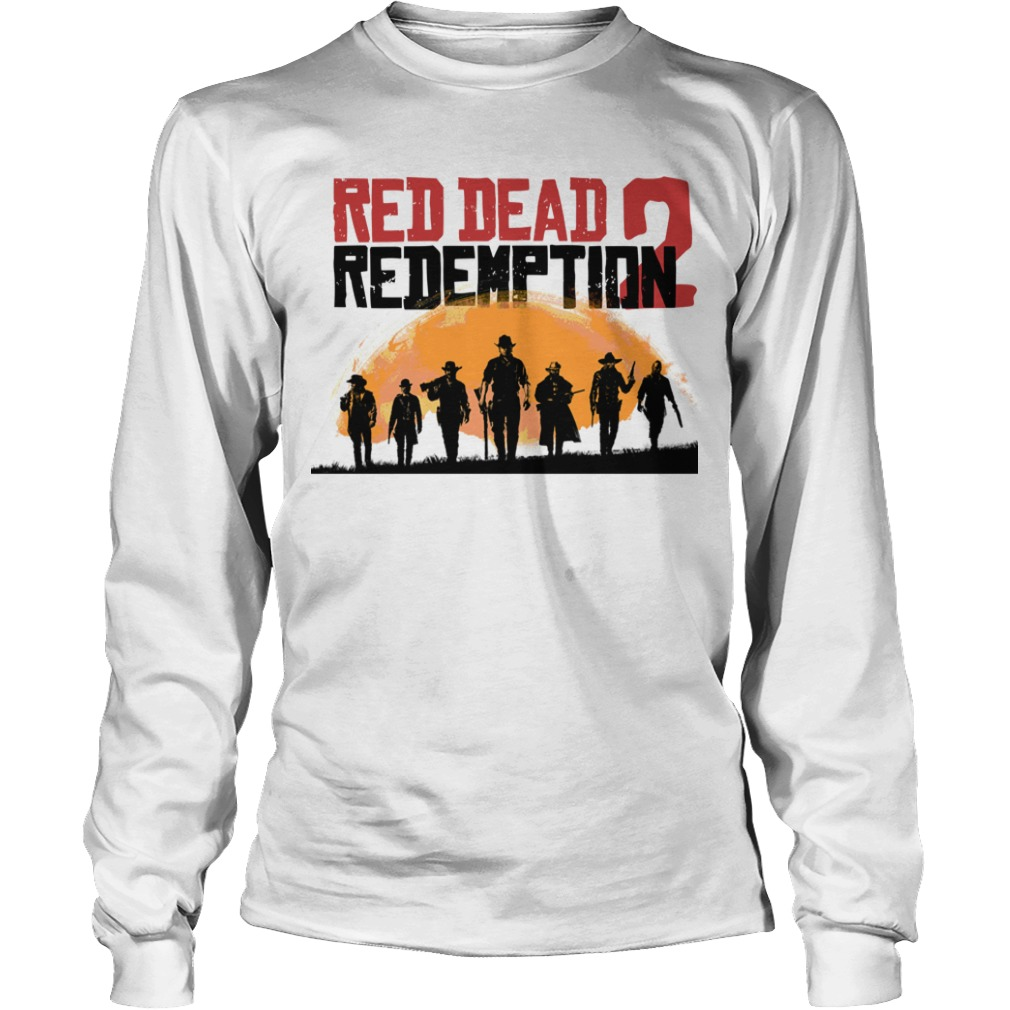 red dead redemption 2 Longsleeve Tee