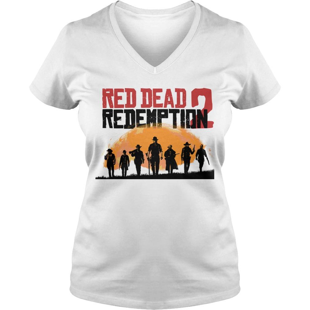 red dead redemption 2 V-neck T-shirt