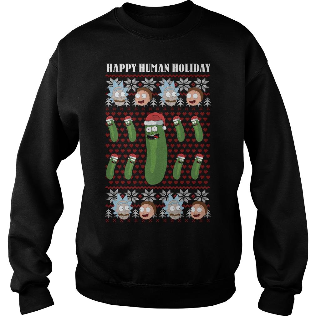 Rick And Morty Christmas ugly Sweater