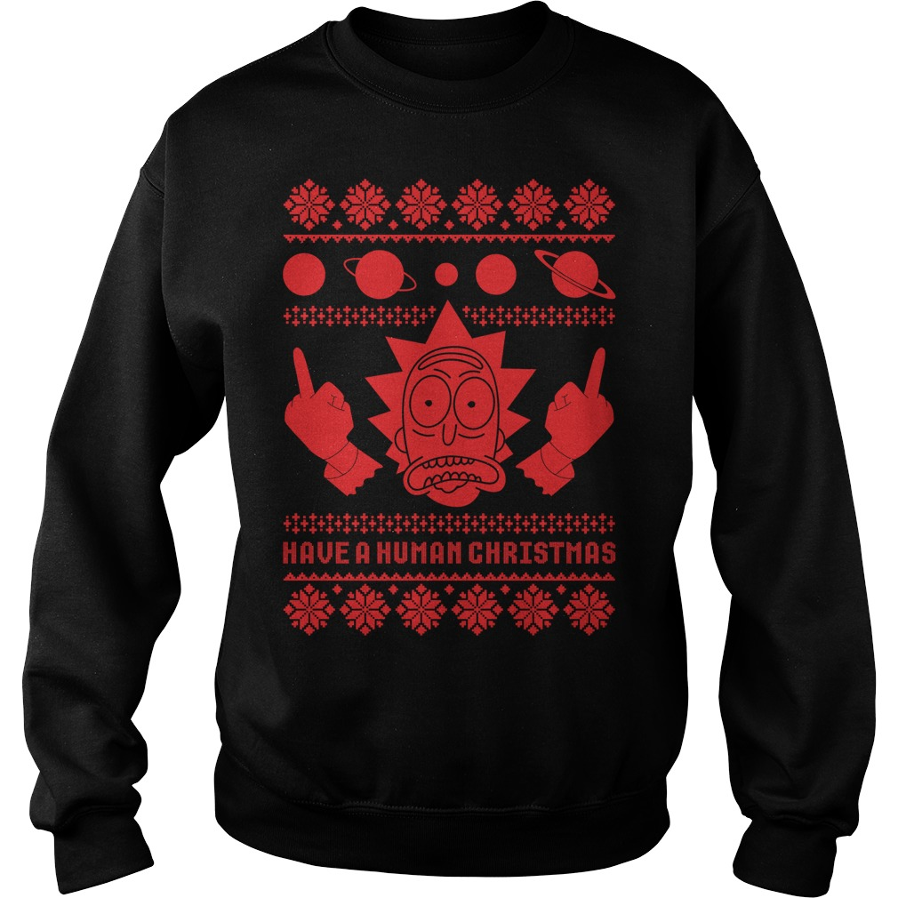 Rick Sanchez Ugly Christmas sweater