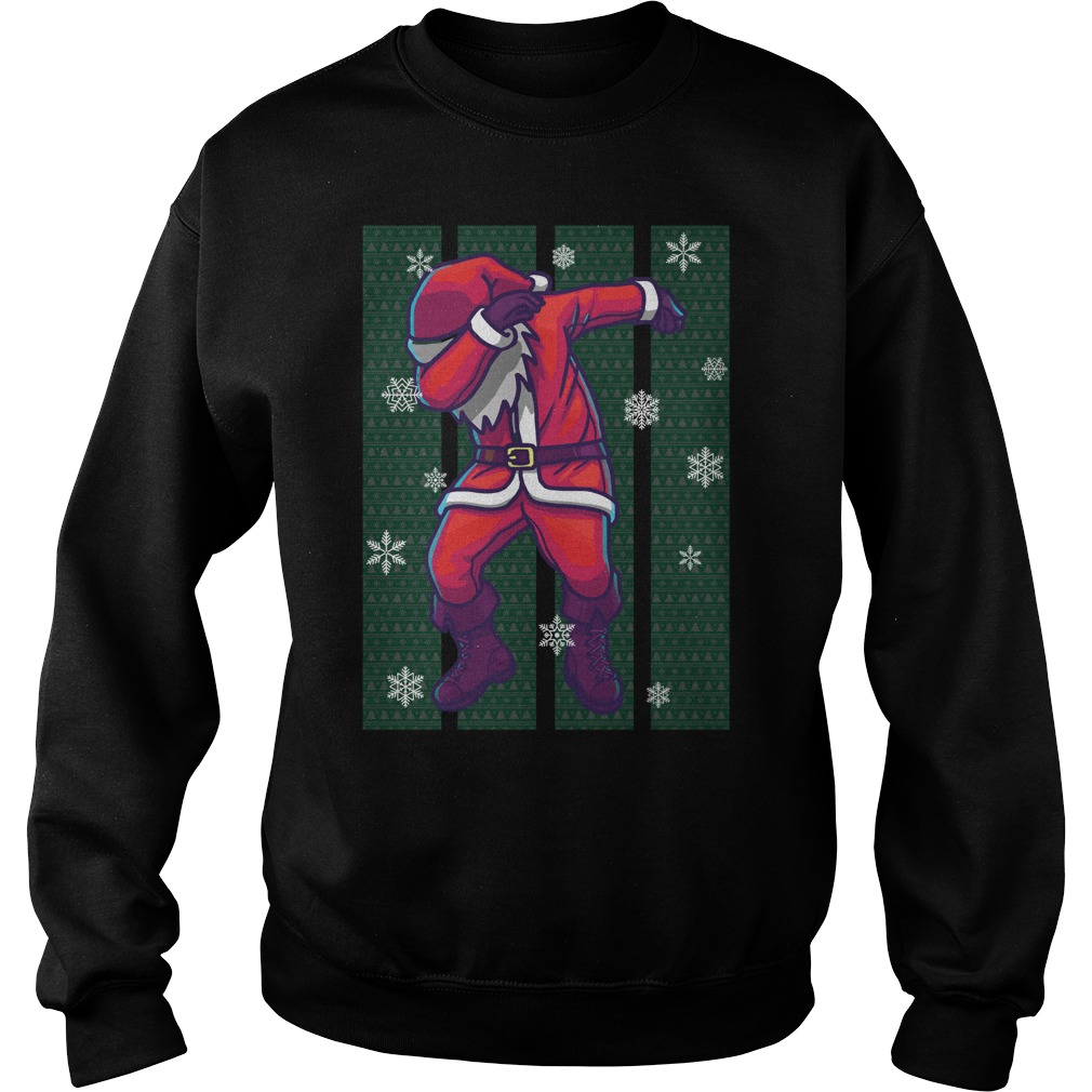 Santa Claus Dabbing Christmas sweater
