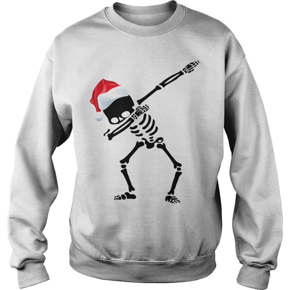 Skeleton Dabbing Christmas sweater