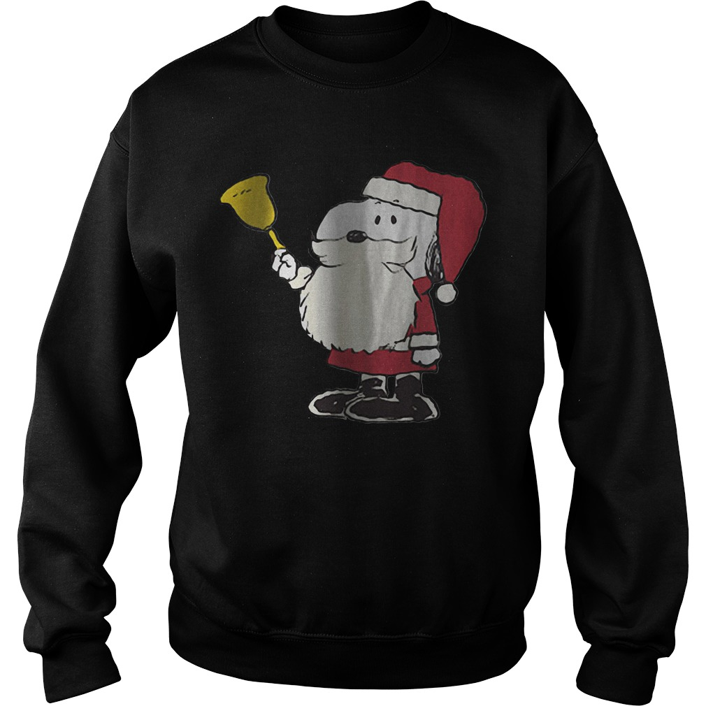 Snoopy Santa Bell Christmas Sweater