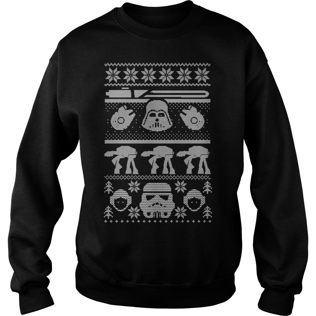 Star Wars Christmas ugly Sweater