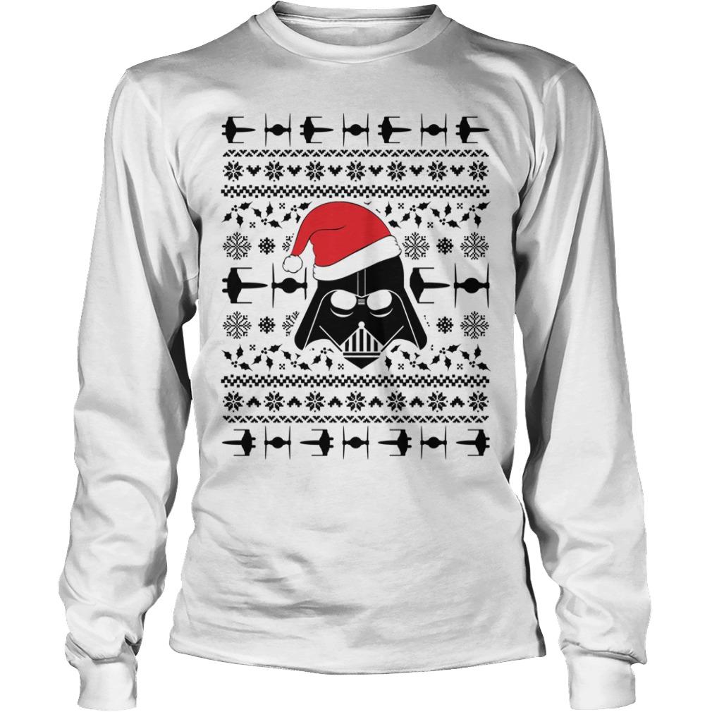 Star Wars Darth Vader ugly Christmas Longsleeve Tee