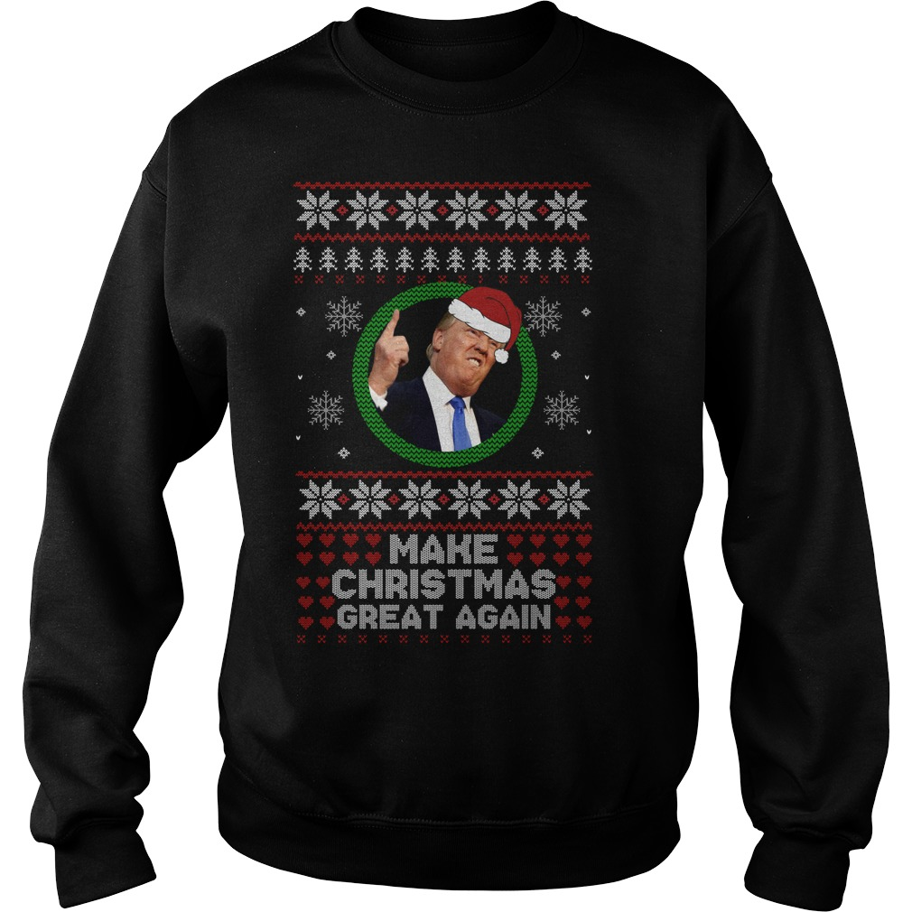 Trump make Christmas great again Christmas sweater