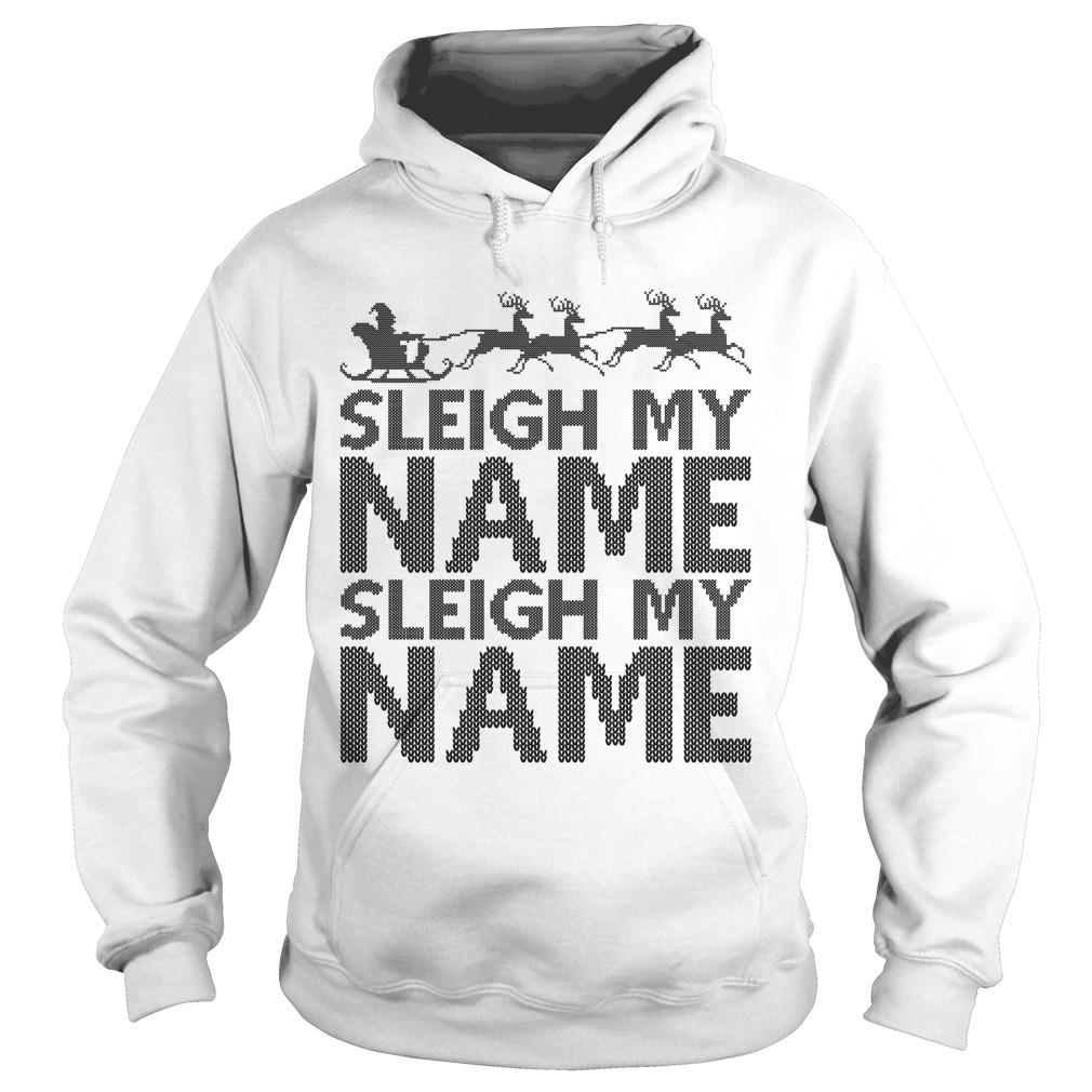 Ugly sleigh my name crewneck sHoodie