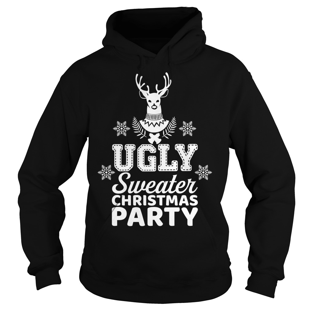 Ugly sweater Christmas party Hoodie