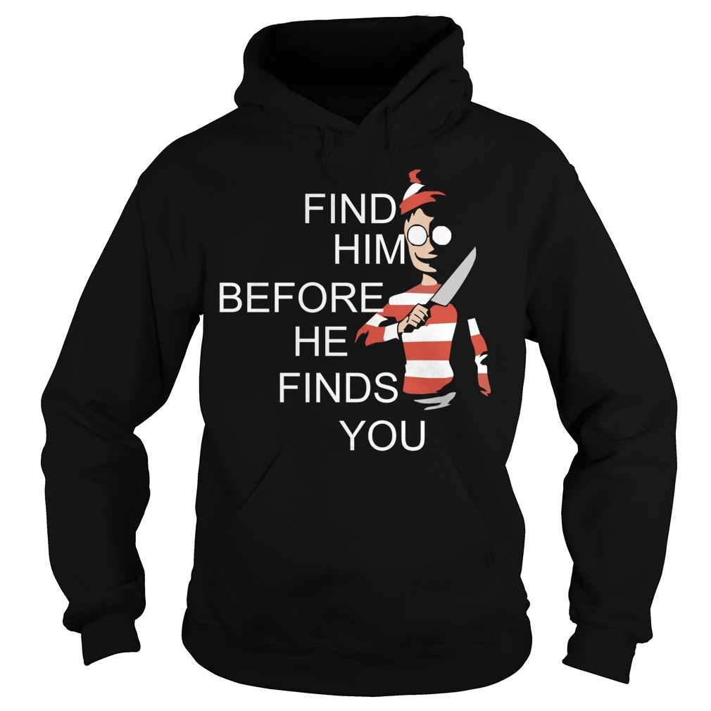 Where's Waldo Wally find him before he finds you Hoodie