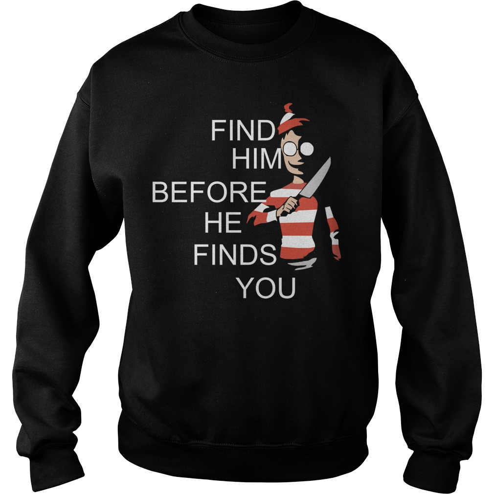 Where's Waldo Wally find him before he finds you Sweater
