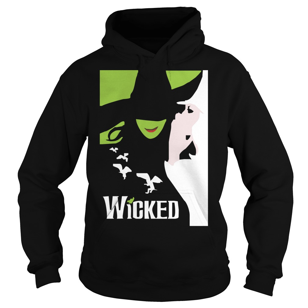 Wicked broadway musical about wizard of oz zipper Hoodie