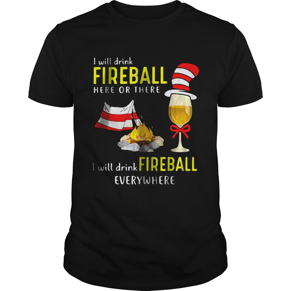 I Will Drink Fireball Guys shirt
