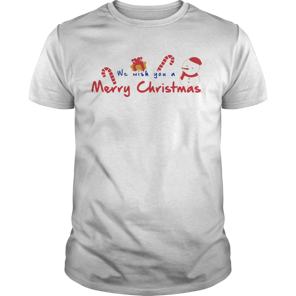 We Wish You A Merry Christmas Guys shirt