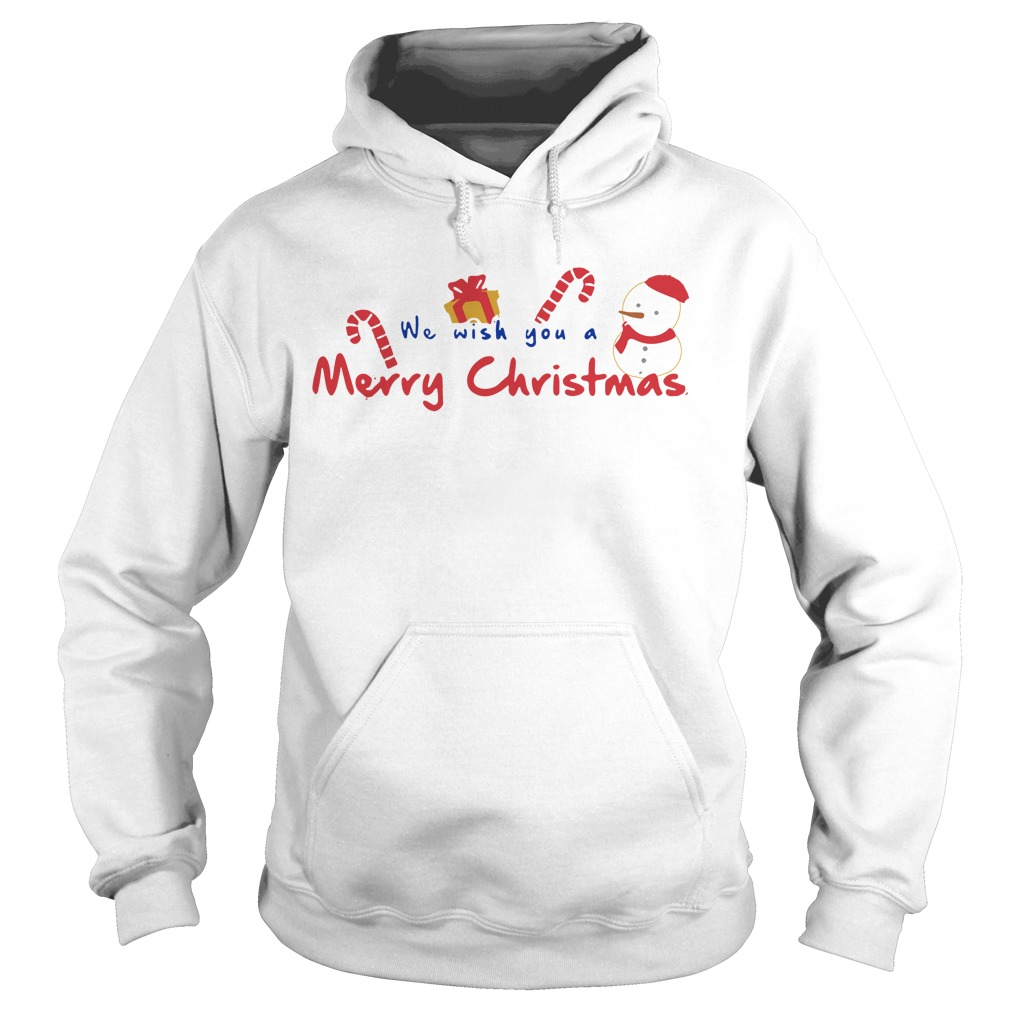 We Wish You A Merry Christmas Hoodie