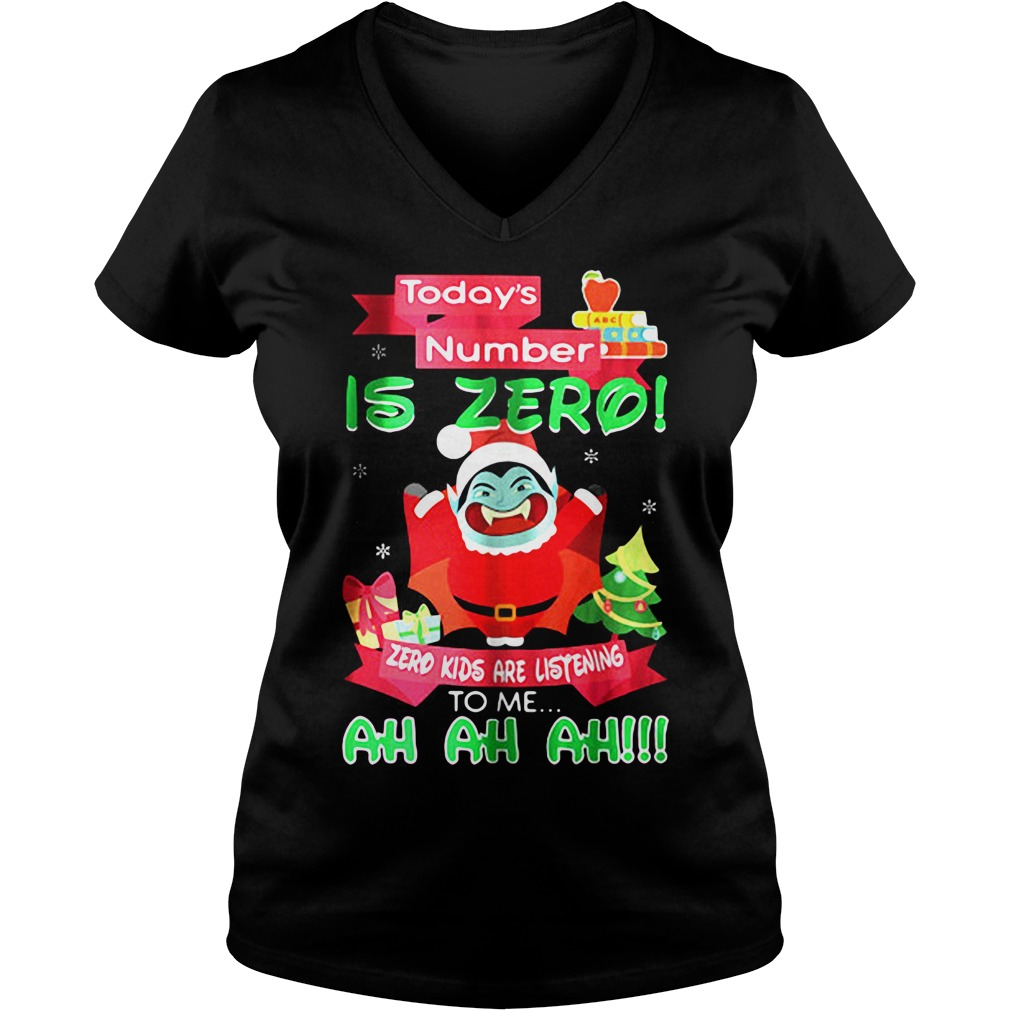 Zero Kids Are Listening To Me V-neck t-shirt