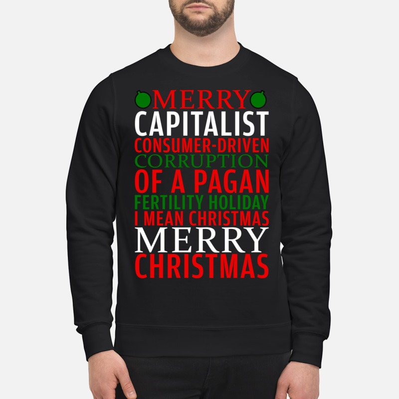 Merry Capitalist consumer driven corruption of a pagan