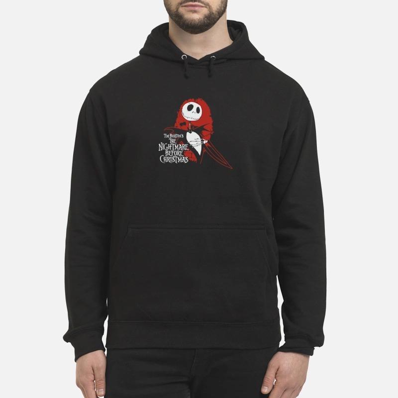 Guys Shirt The Burton's the nightmare before Christmas Hoodie