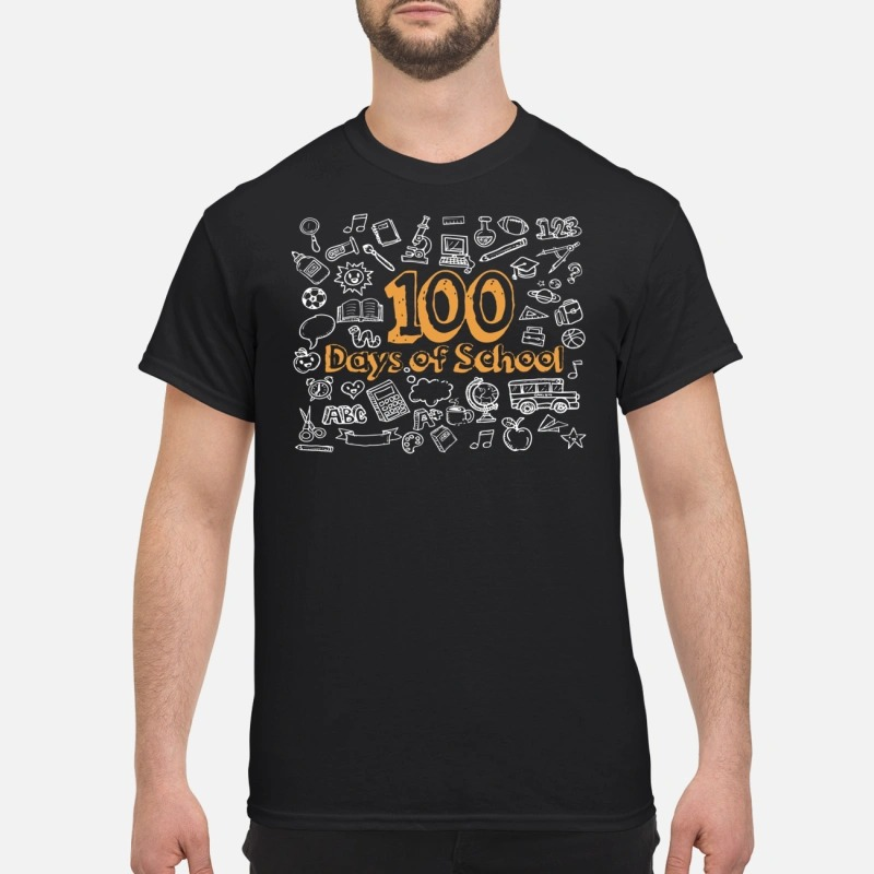 100 days of school Guys Shirt