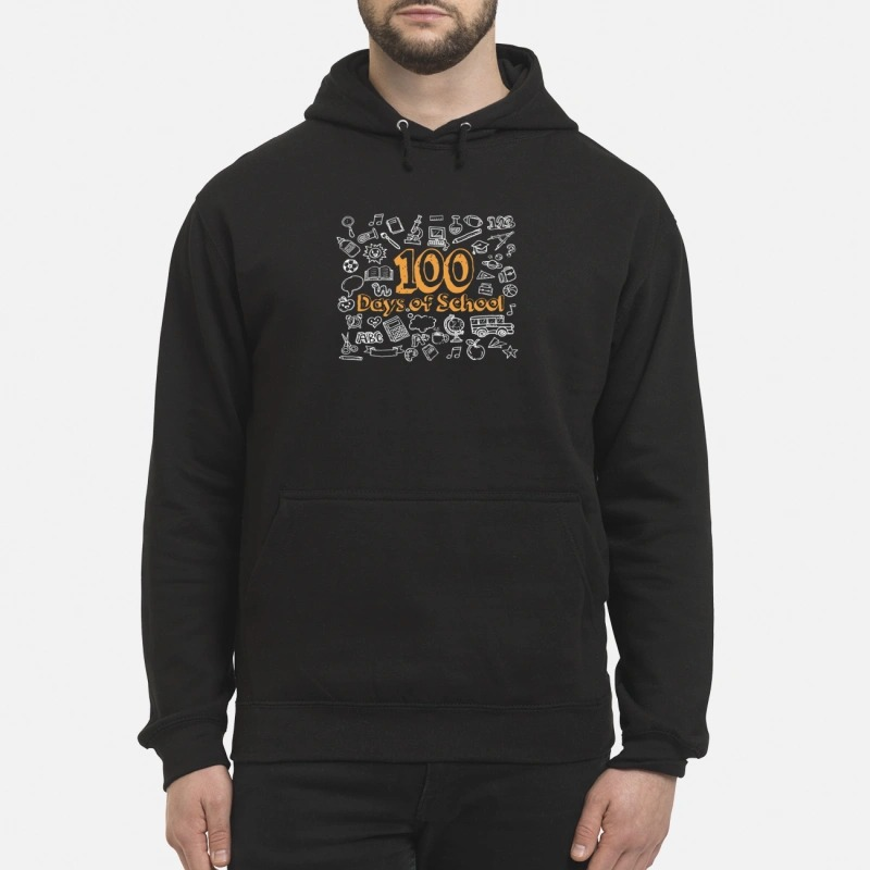100 days of school Hoodie